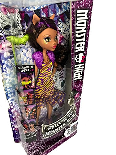 Monster High Doll Collection Clawdeen Wolf Cleo de Nile Assortment -