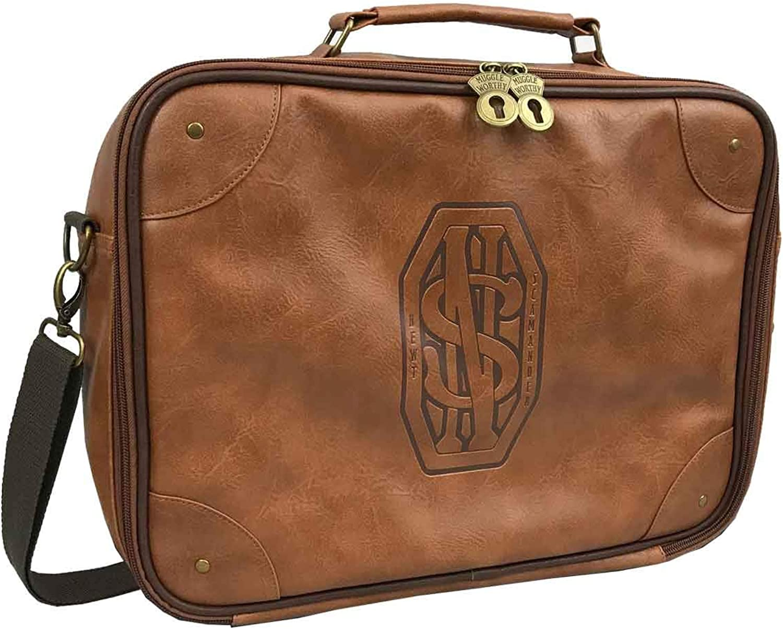 Fantastic Beasts Messenger Bag Newt Scamander Briefcase Official Brown