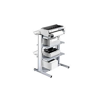 Mesa para impresora con 4 niveles: Amazon.es: Oficina y papelería