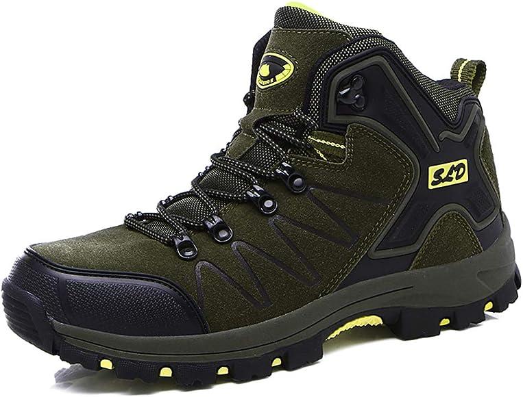 Botas de Senderismo para Hombre Invierno Botas de montaña Trekking ...