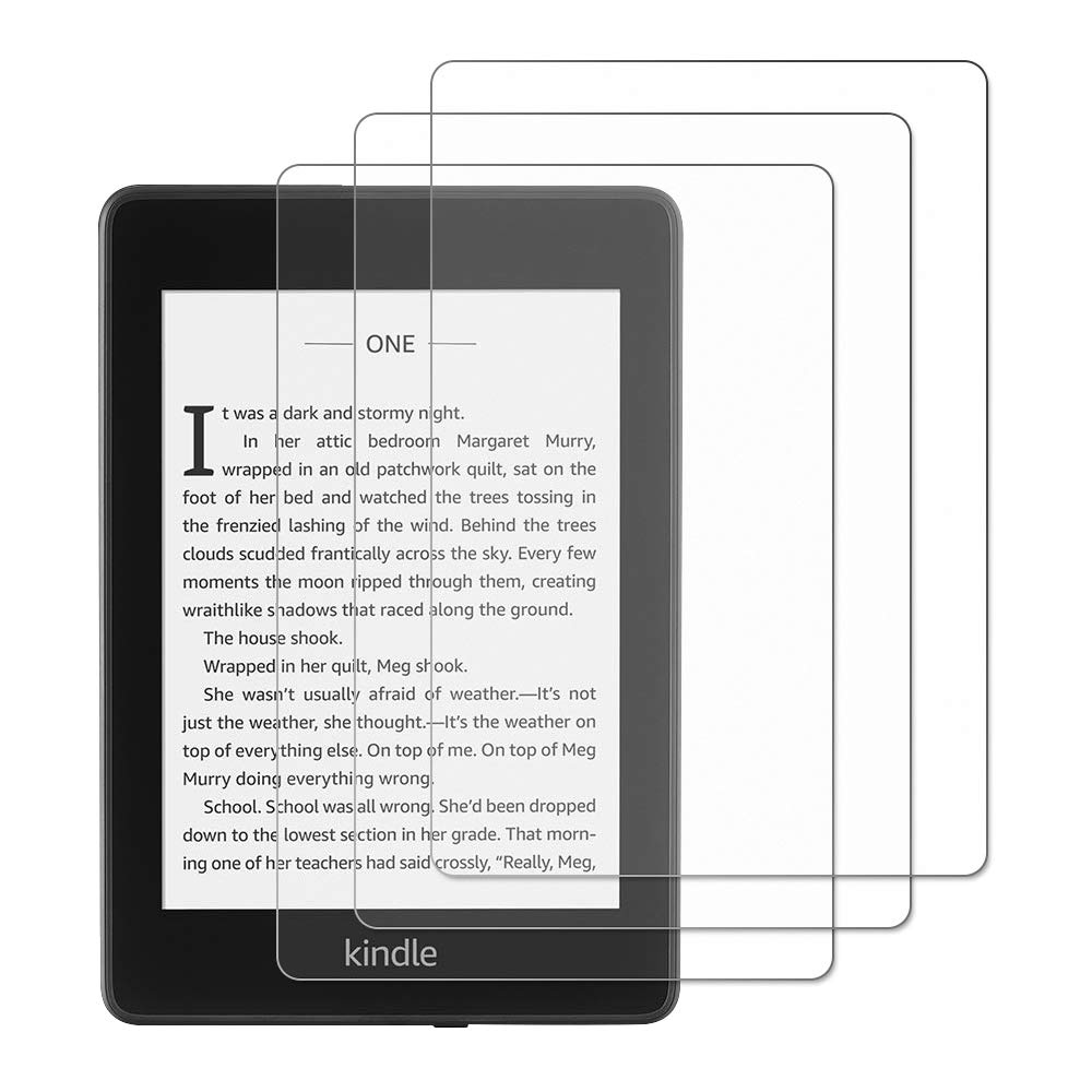 [3-Pack] Gzerma Screen Protector for All-New Kindle Paperwhite (10th Generation, 2018 Release), Anti-Glare Screen Protectors Matte Film for Kindle Paperwhite 2018 10th Generation (6 inch) Kindle Paperwhite 10th 2018