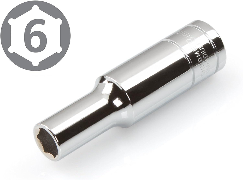 6-Point TEKTON 14194 3//8-Inch Drive by 13 mm Deep Socket Cr-V