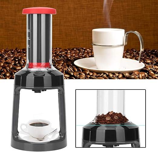 Cafetera manual, robusta Cápsula manual portátil Cafetera Prensa de mano Máquina de café Oficina en el hogar Lavable para uso doméstico Cocina: Amazon.es: Hogar