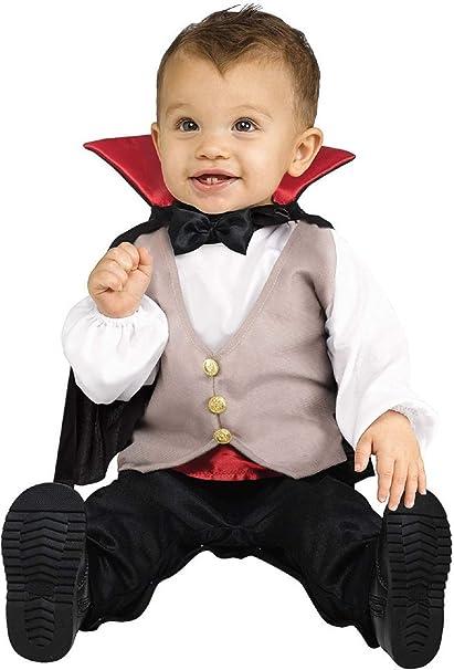 Bebé Niño Niños Conde Drácula Vampiro Disfraz de Halloween 1-2 ...