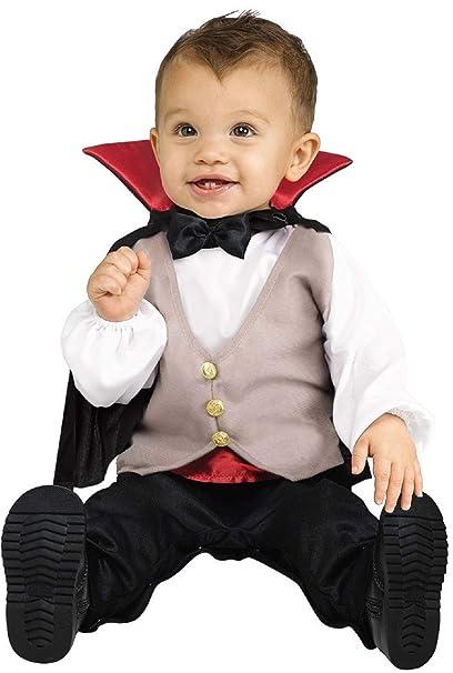 Bebé Niño Niños Conde Drácula Vampiro Disfraz de Halloween 1 ...