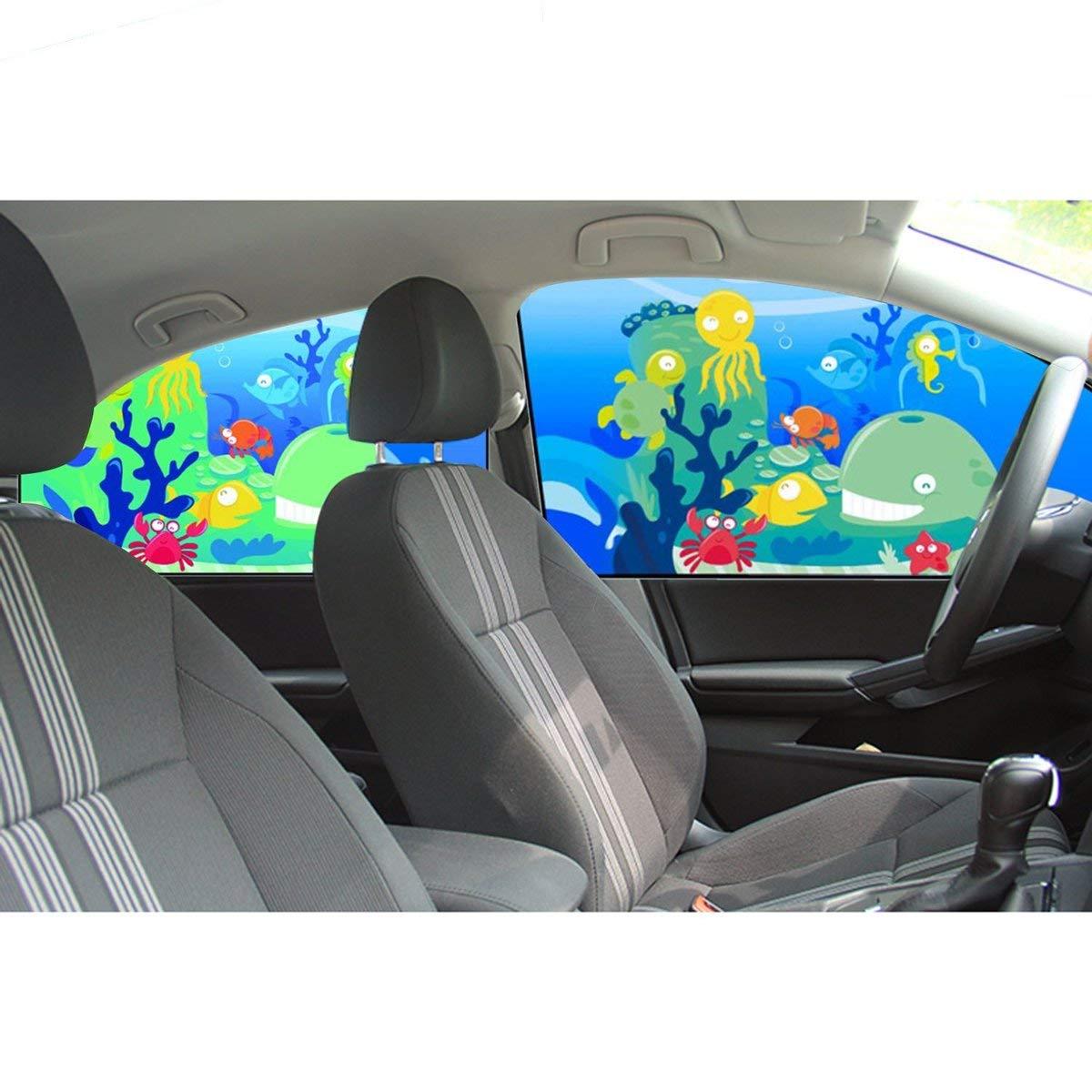 Gugutogo 1 ST/ÜCK Magnetische Auto Seitenfenster Sonnenschutz Vorh/änge Fenster Sonnenblende Jalousien Abdeckung