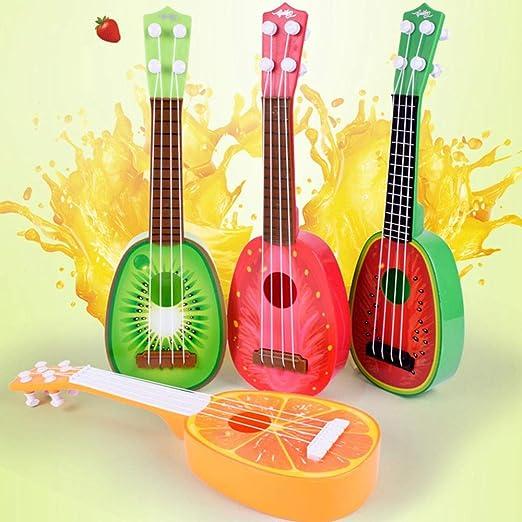 FOONEE - Guitarra educativa de Juguete de plástico para Guitarra ...