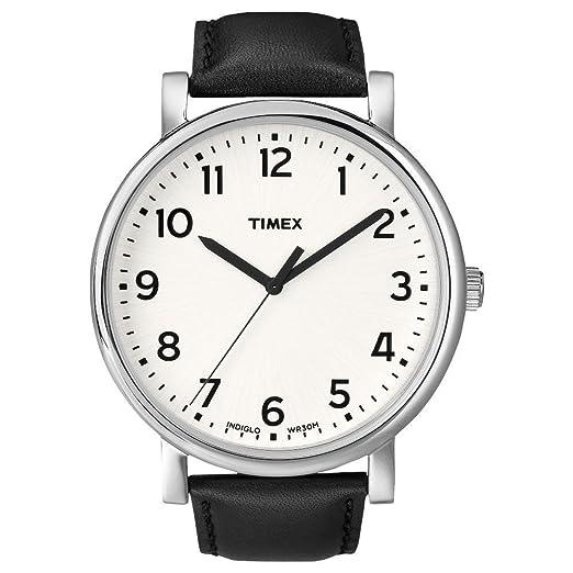 3c9d0b32bf57 Timex Originals - Reloj análogico de cuarzo con correa de cuero unisex
