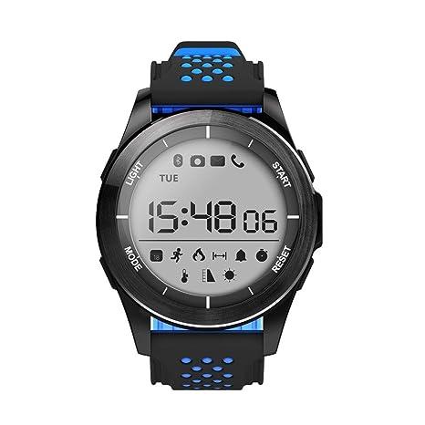 Cebbay Reloj Inteligente Impermeable IP68 Reloj Inteligente con Cronómetro Reloj de Fitness con Podómetro Cronómetros