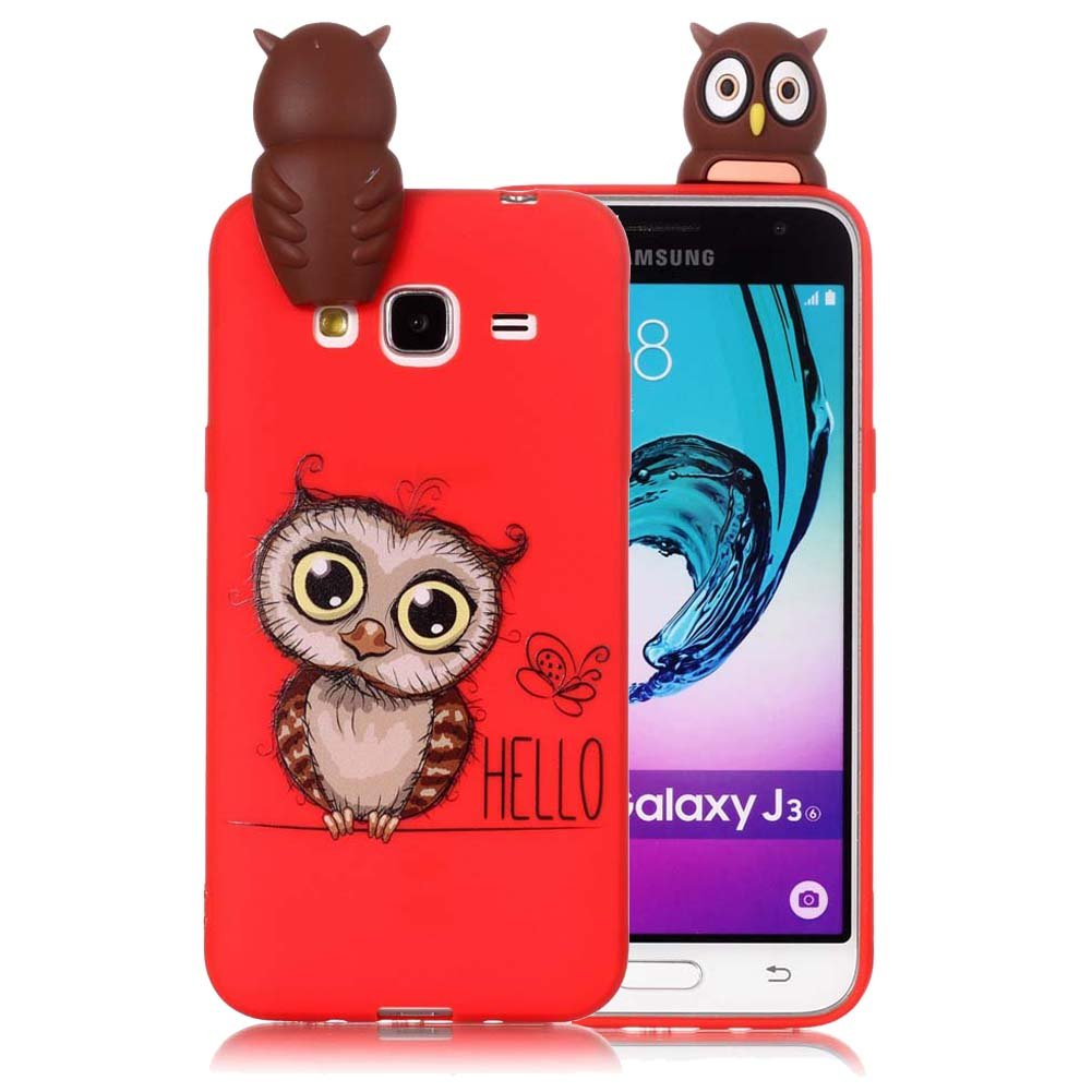 samsung galaxy j3 6 case owl
