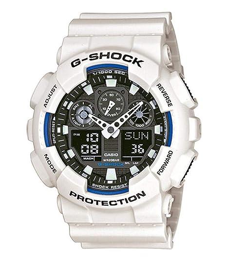 5c6a9f1c4d5e Casio Reloj de Pulsera GA-100B-7AER  Amazon.es  Relojes