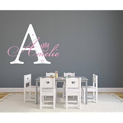 wandtattoo name. Black Bedroom Furniture Sets. Home Design Ideas