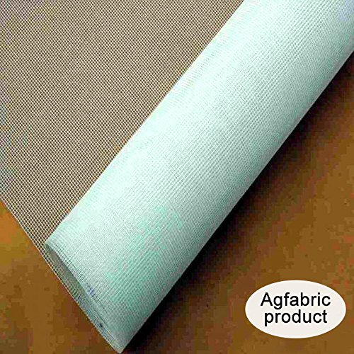 Agfabric Standard Insect Screen & Garden Netting against Bugs, Birds & Squirrels - 10'x30' of Mesh Netting, White by Agfabric (Image #2)
