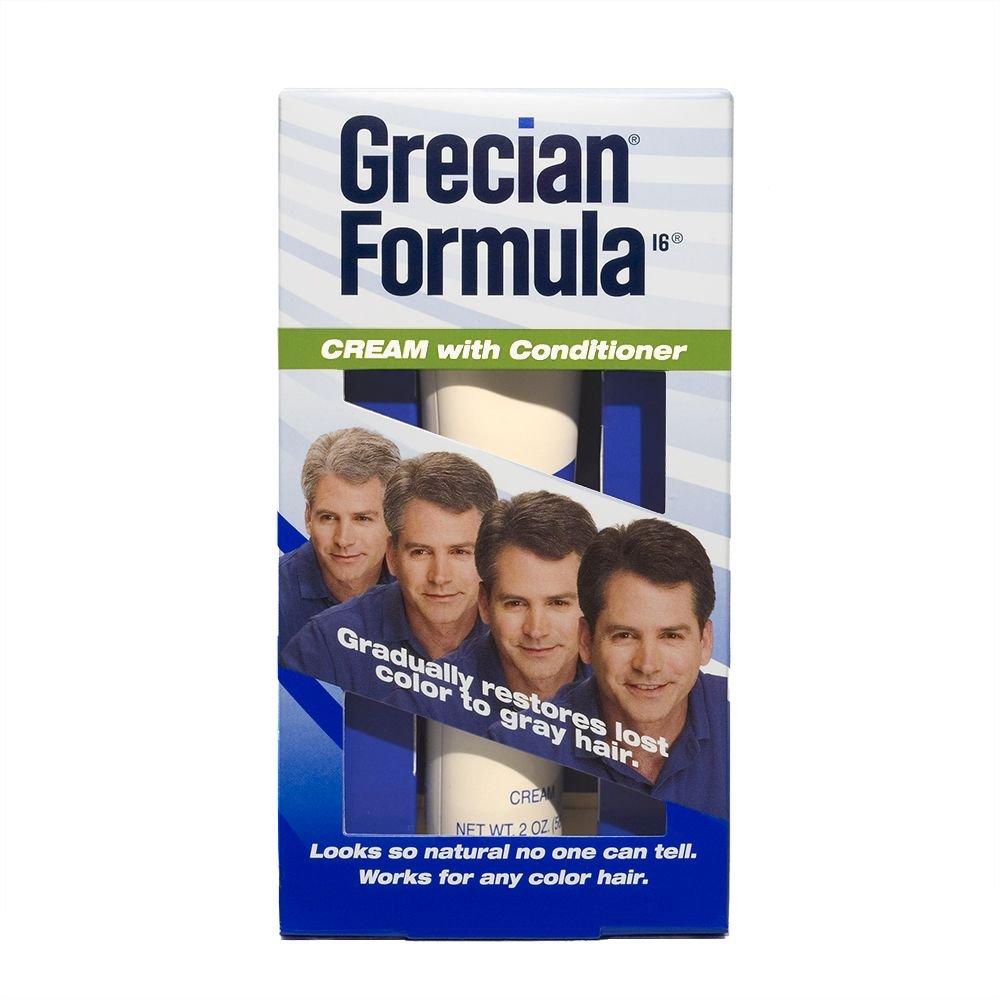 Grecian Formula Cream with Conditioner Hair Color,  2oz.