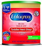 Enfagrow Toddler Next Step Vanilla Powder, 24 Ounce Can, Pack of 4