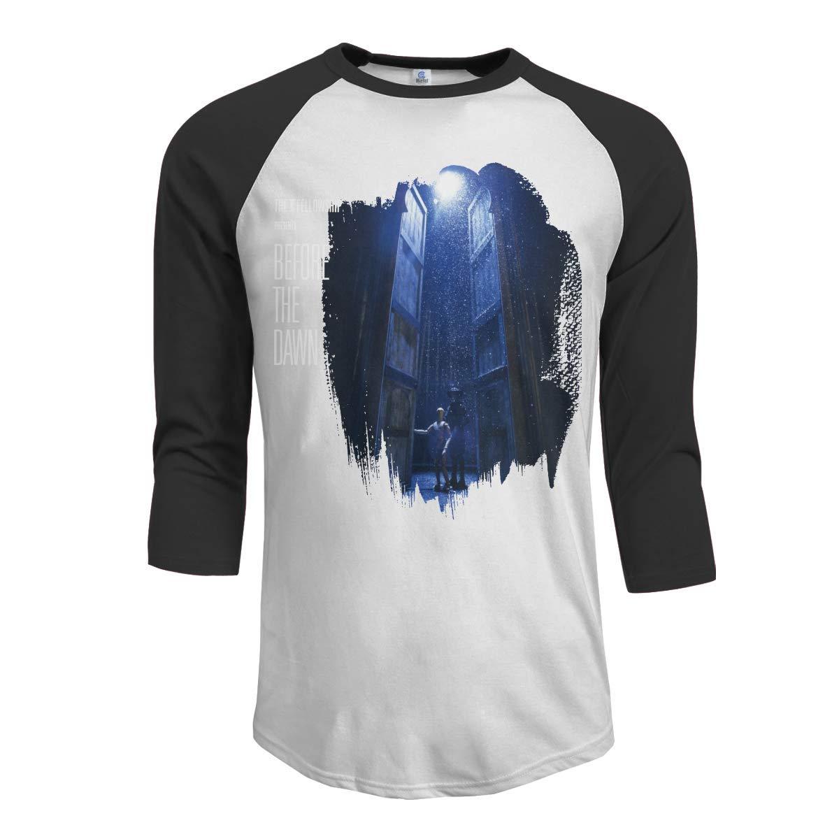 Macwe Kate Bush Before The Dawn Men S 3 4 Sleeve Baseball Black Shirts