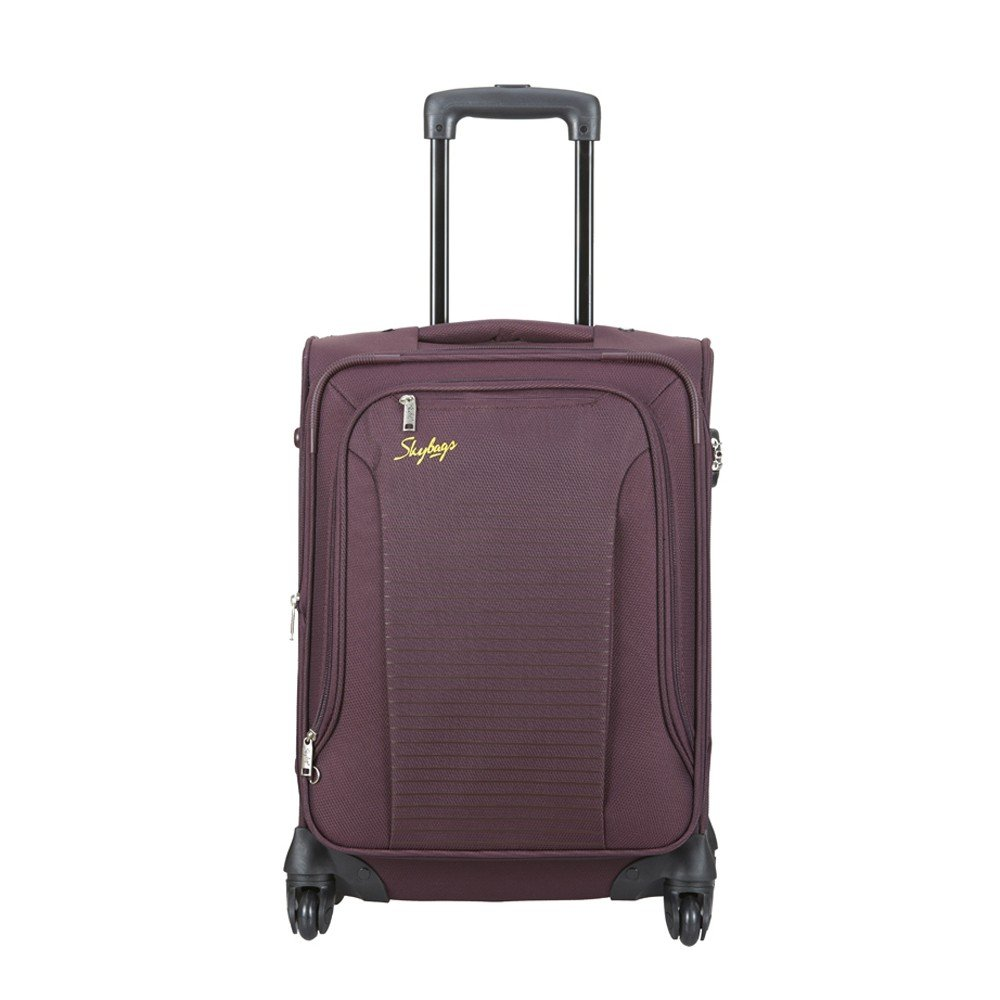 Skybags Footloose Napier Polyester 66 cms Raisin Softsided