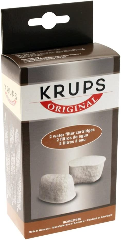KRUPS 8000000302 Not Not Available F47200 Duo Filters Water Filtration System Coffee Makers Compatible with FMF/FME / 629/619 /180/176 / 466 and 467, 2-Pack