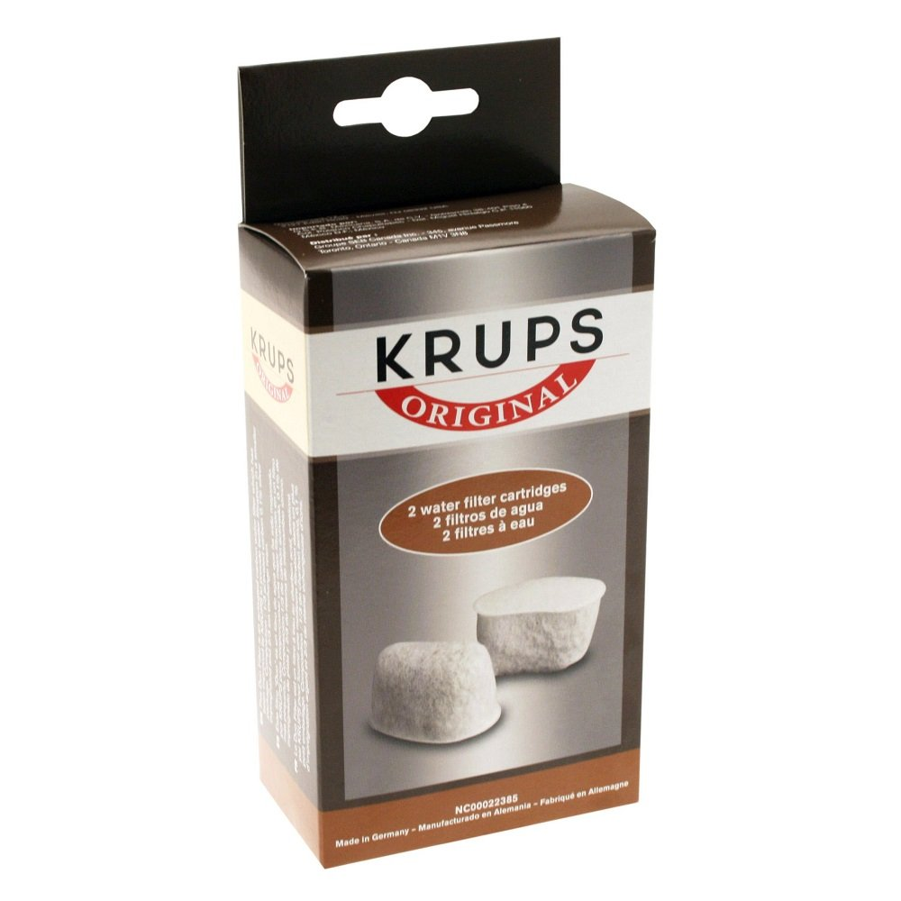 KRUPS Not Available F47200 Duo Filters Water Filtration System Coffee Makers Compatible with FMF/FME / 629/619 /180/176 / 466 and 467, 2-Pack