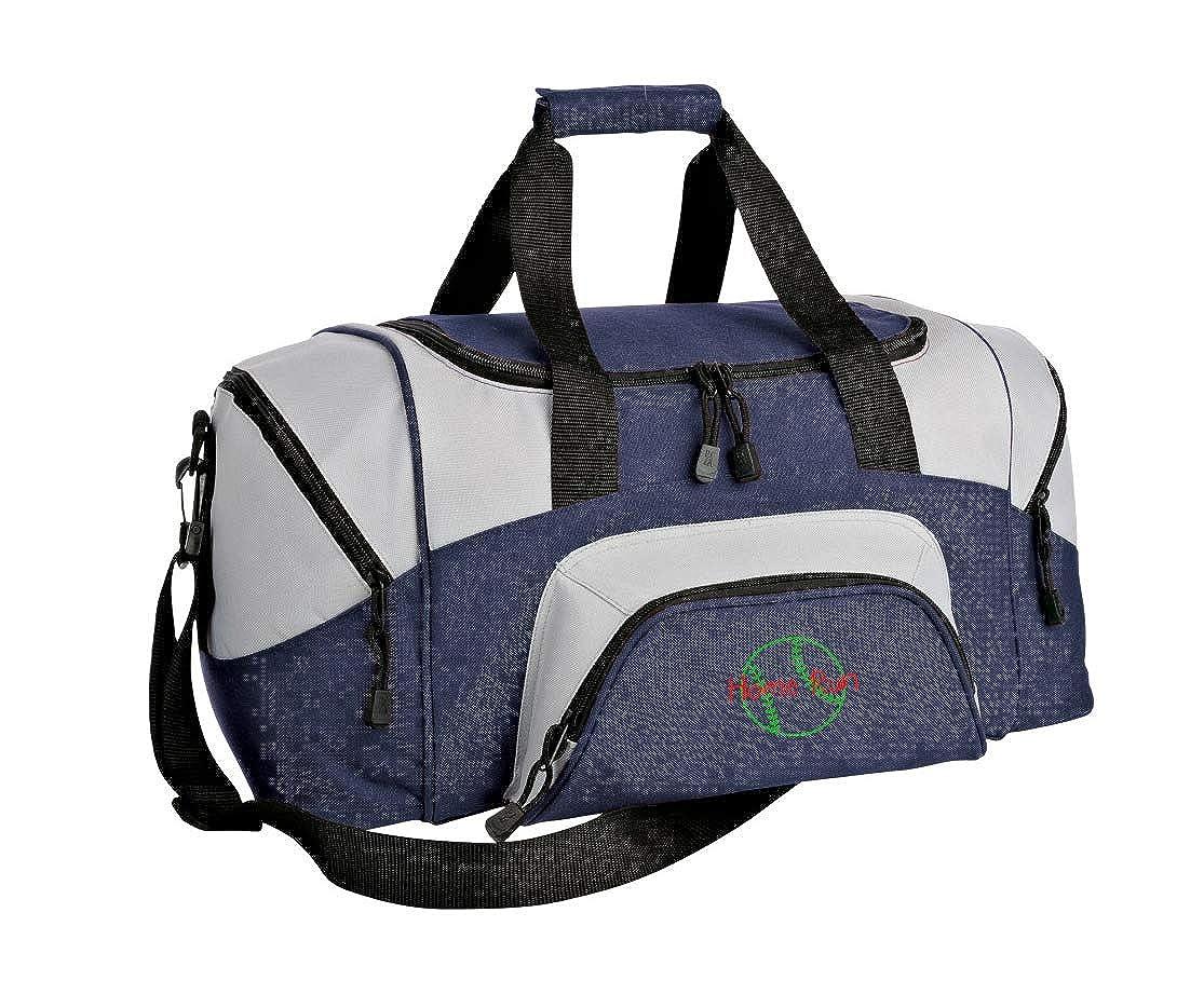 Colorblock Sport Small Duffle Bag Softball Personalized