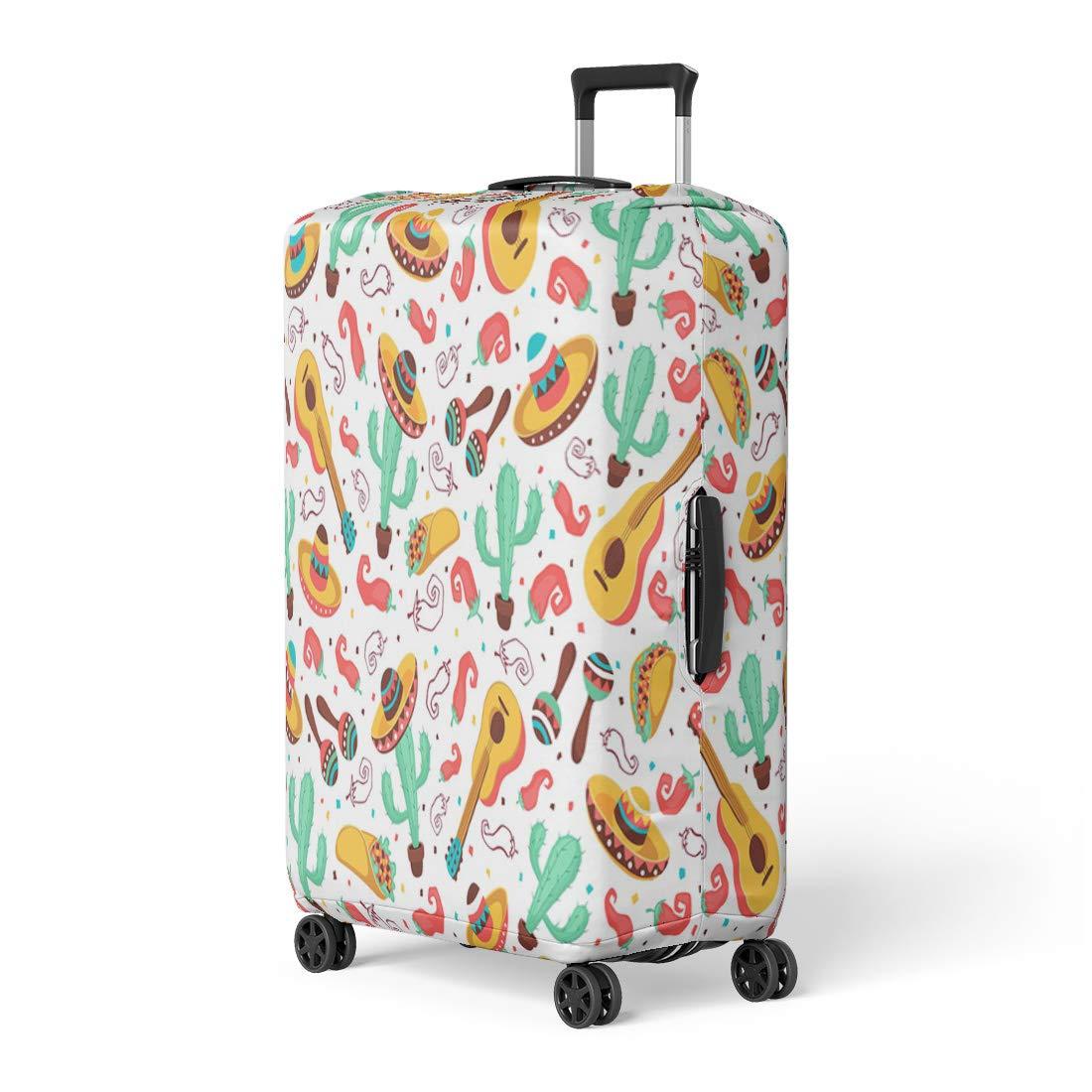 f2a592fe0f76 Amazon.com: Pinbeam Luggage Cover Pink Princess Three Cute Little ...