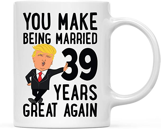 Details about  /Funny Amazing Wife For 16 Years Coffee Mug 16th Anniversary Wife Trump Gifts