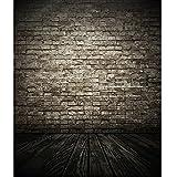 SuperUS Vinyl Wood Wall Floor Photography Studio Prop Backdrop Background 3x5FT