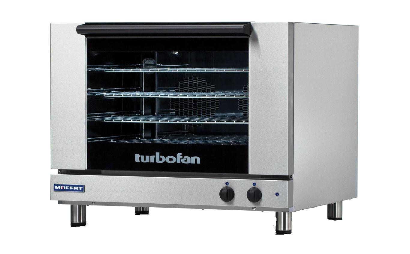 Moffat E28M4 Turbofan Convection Oven, Single Electric Full-Size