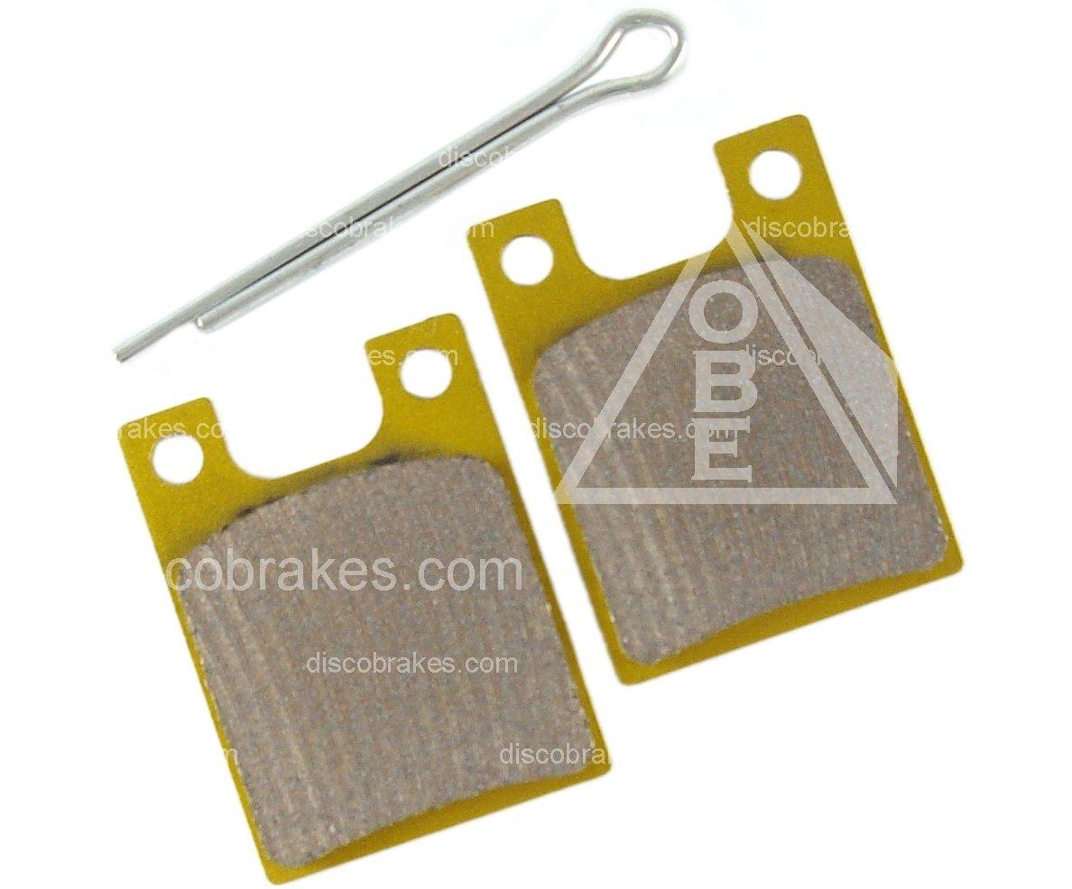 2 Split Pins Moto V2 O2 XC DH MTB Gold Col. F1 Sintered Hope C2 Disc Brake Pads