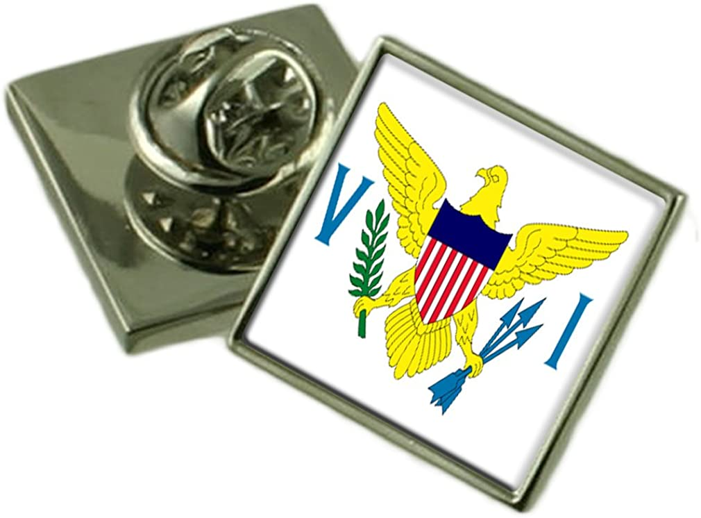 British Virgin Islands Flag Lapel Pin Badge