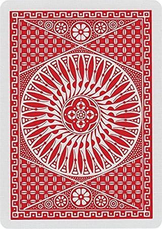 Caja de barajas TALLY-HO Circle (12 Rojo): Amazon.es: Juguetes y ...