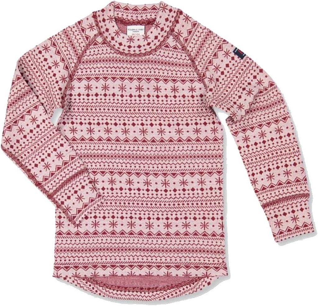 Pyret Nordic Snow Merino Wool TOP Polarn O Baby