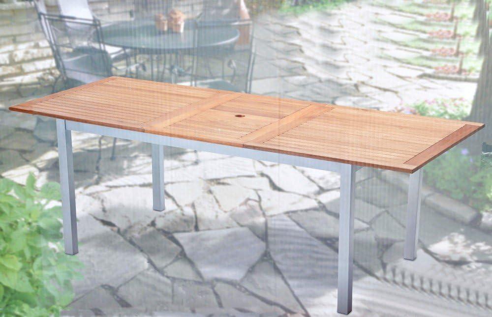 Tarrington House LYNX Tisch Aluminium, Eukalyptus | METRO