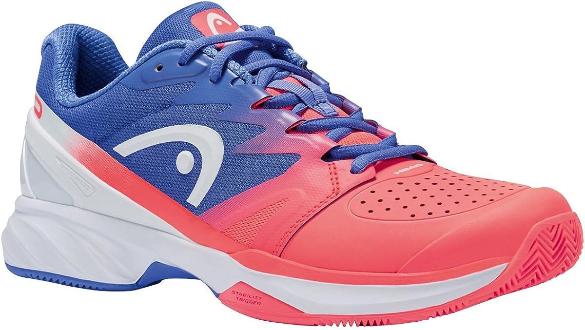 HEAD Sprint Pro 2.0 Clay - Zapatillas de tenis para mujer, color coral marino