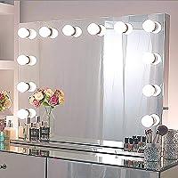 Chende Espejo Maquillaje con luz, Espejo Hollywood