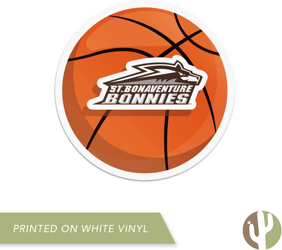 St Basketball Logo Sticker Bonaventure University SBU Bonnies NCAA Vinyl Decal Laptop Water Bottle Car Scrapbook