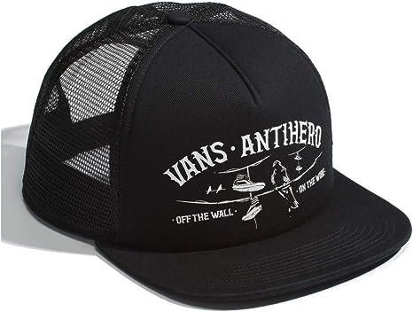 Vans X Anti Hero Cap -Spring 2019-(VN0A3I3OB0Y) - Black/Zinnia ...