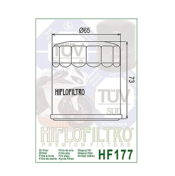 HifloFiltro HF177 Filtro para Moto