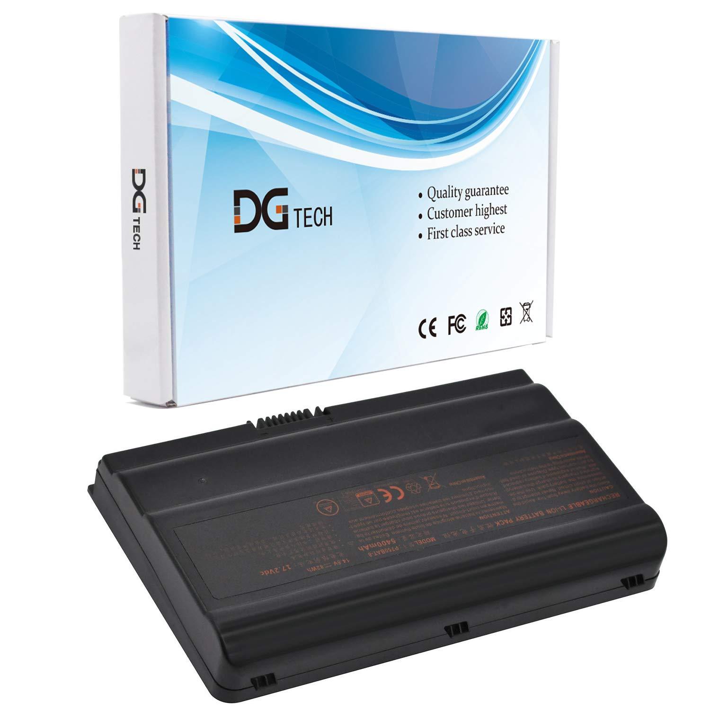 DGTECH New P750BAT-8 Laptop Battery Compatible with Clevo P750ZM P751DM P751ZM P770DM P770ZM P771DM P771ZM P775DM P775DM1 6-87-P750S-4271 6-87-P750S-4272 6-87-P750S-4U73 6-87-P750S-4273 (14.8V 82Wh)