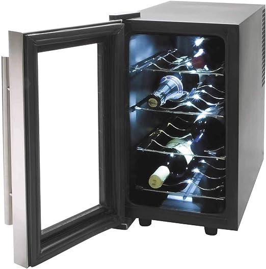 Armario refrigerador 8 Botellas Inox Line 70w 25Litros Lacor 69078