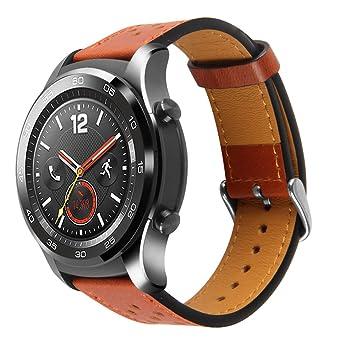 Pinhen Correa de repuesto para reloj Huawei Watch 2 Pro, 22 ...