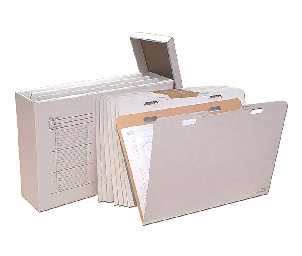 "Offex Vertical Flat File Organizer - Stores Flat Items up to 24""x36"""