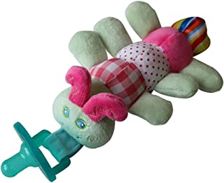 OUYAWEI Fashion 2 in 1 Removable Infant Pacifier Cartoon Animal Toy Pacifier