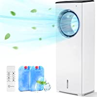 "COMFYHOME 2-in-1 Air Cooler, 32"" Portable Air Conditioner w/Cooling Function, Bladeless Design, 3 Wind Speeds, 4 Modes…"