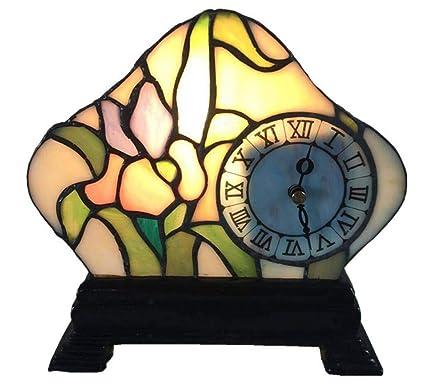 Grz Lámparas de Mesa Estilo Tiffany Lámparas de Noche con ...
