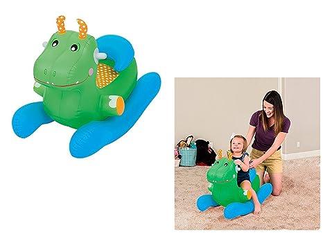 Sedie A Dondolo In Legno Per Bambini : Bestway sedia a dondolo gonfiabile con schienale regolabile per