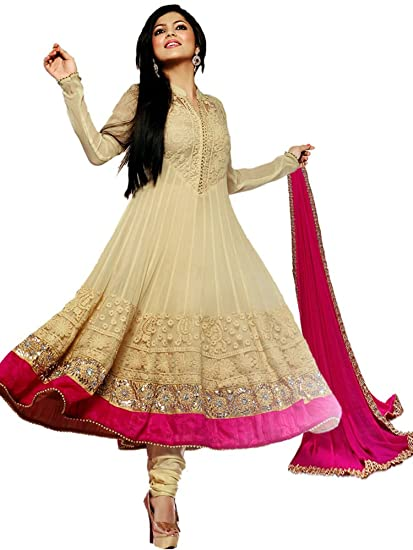 9b49650a55 STYLE AMAZE Women's Cotton Semi-stitched Dress Material with dupatta:  Amazon.in: Clothing & Accessories
