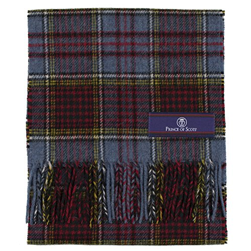 Prince of Scots 100% Pure Merino Lambswool Tartan Scarf (onesize, Anderson)