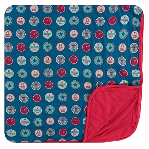 Kickee Pants Little Boys Print Toddler Blanket - Soda Pop Caps, One -
