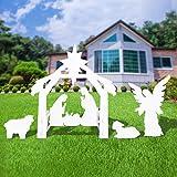 Outdoor Nativity Set - Full Yard Nativity Scene with Holy Family and Angle